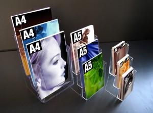 """Le porte-brochure """"comptoir 3 cases"""""""