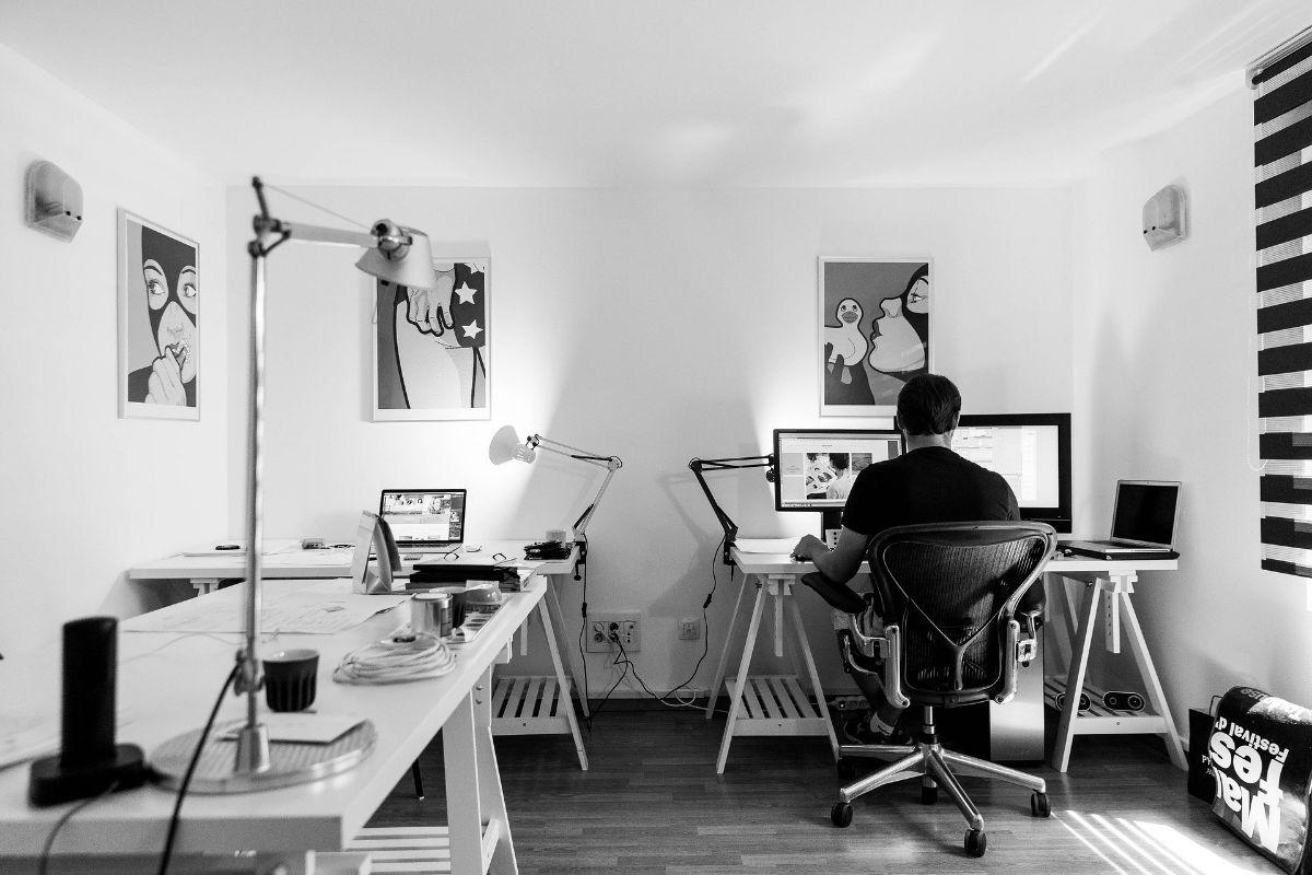 Image D Un Bureau De Travail aménagement et décoration de son bureau